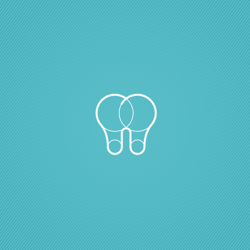 Dental brand with the title 'logo'