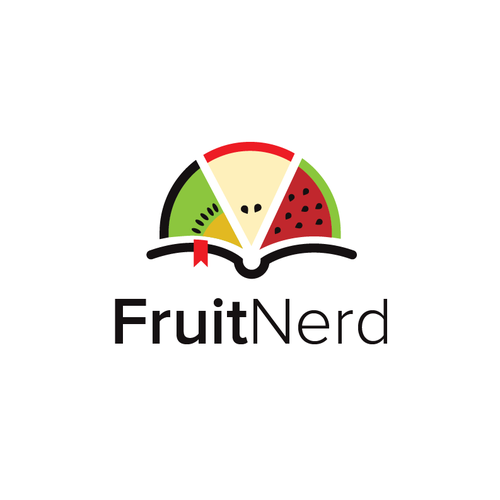Nerd logo with the title 'Fruit Nerd'