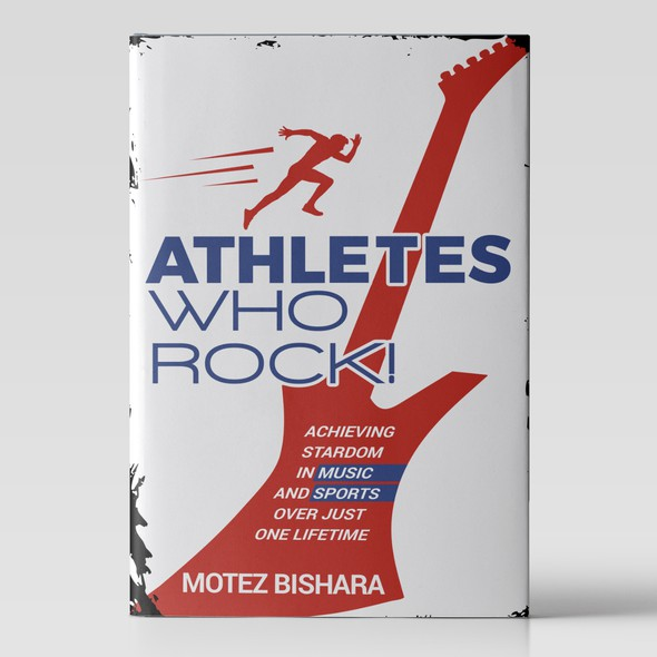 Title design with the title 'Athletes who rock!'
