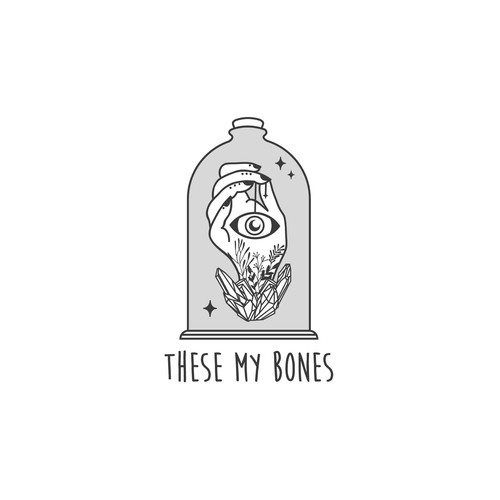 Tarot logo with the title 'These My Bones'