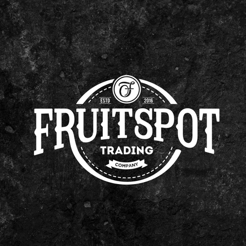 Typeface design with the title 'Classic fruit spot'