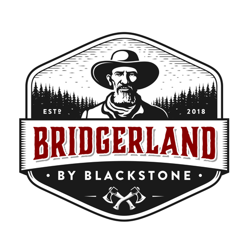 Forest logo with the title 'Bridgerland By Blackstone'