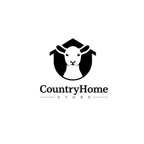 Rural design with the title 'CountryHome.Store'
