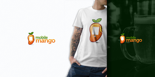 Mango design with the title 'Design a logo for a fresh new webshop'