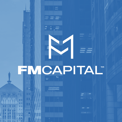 Letter logo with the title 'FMcapital'