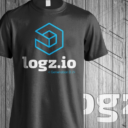 Elegant t-shirt with the title 'Logz.io Tshirt'
