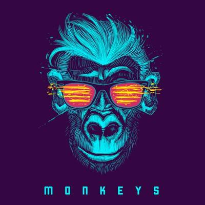 Monkeys - music album artwork