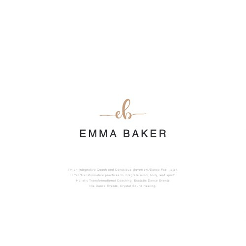 Clear brand with the title 'Emma Baker'