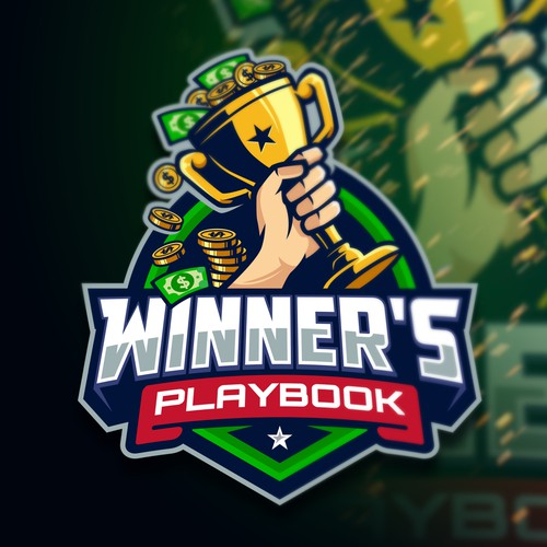 Money design with the title 'Winner's Playbook'