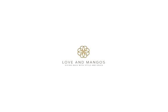 Mango design with the title 'love and mangos '