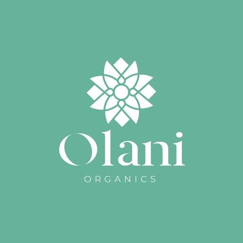 Boutique logo with the title 'Olani Organics'