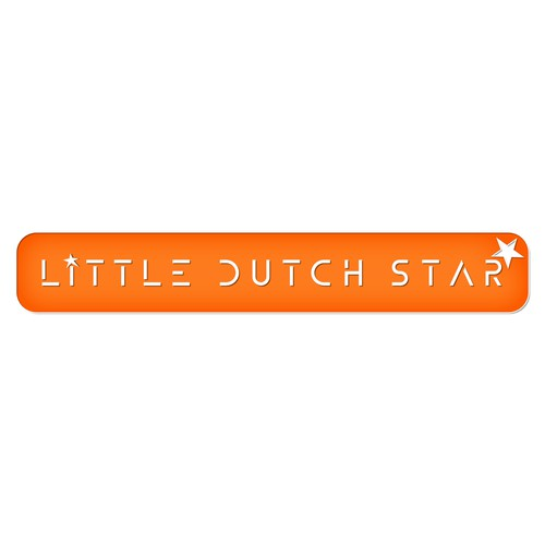 Towel logo with the title 'Little Dutch Star Towel Business'