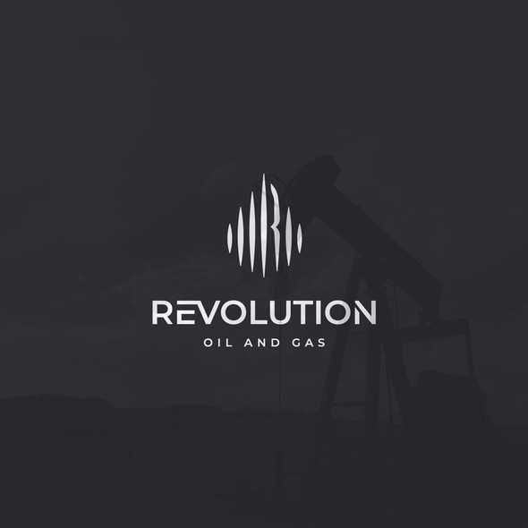 Oil and gas logo with the title 'Start up Oil and Gas company'