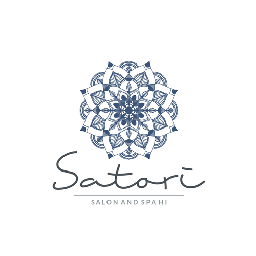 Mandala logo with the title 'Logo for the salon '