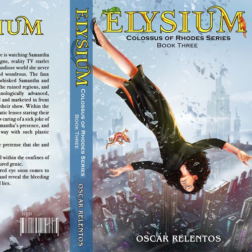 Full-color design with the title 'Elysium'