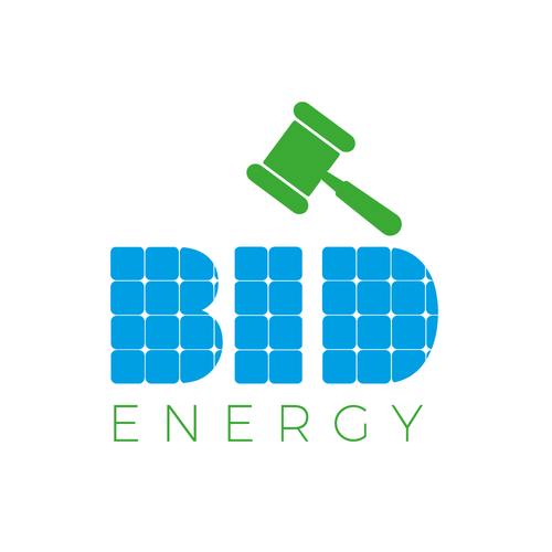 Renewable energy logo with the title 'Logo design for Bid energy'