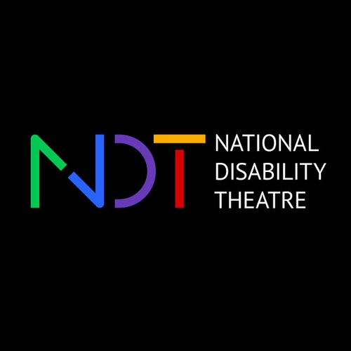 Stencil design with the title 'NDT logo'