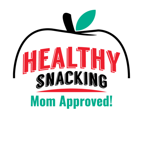 Vending machine design with the title 'Healthy Snacking - Mom Approved!'