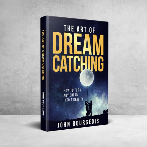 Dream book cover with the title 'The Art Of Dream Catching'