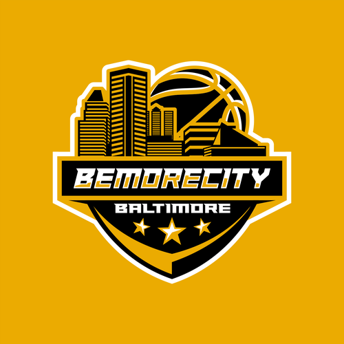NBA design with the title 'basketball logo'