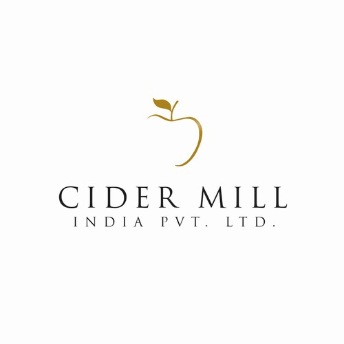 Ultimate logo with the title 'Logo for Cider Mill'