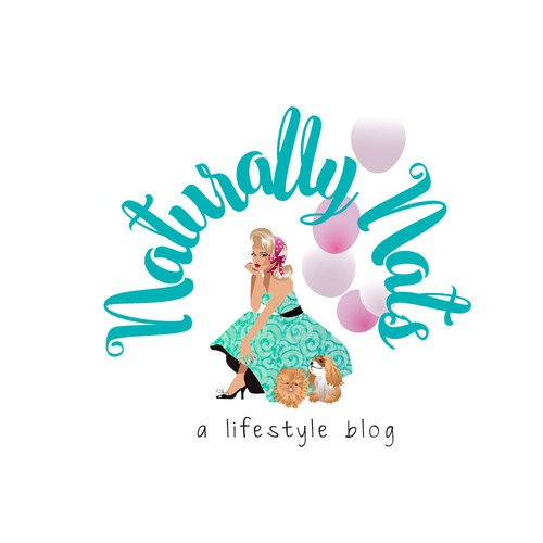 Stunning logo with the title 'Life Style Personal Blog'