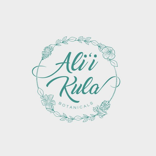 Esthetician logo with the title 'Logo for Alii Kula'