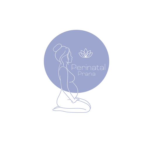 Maternity logo with the title 'Logodesign'