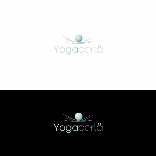 Yoga studio design with the title 'Logo for  yoga teacher and therapist'