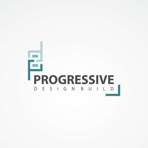 Contact design with the title 'Progressive Design Build'