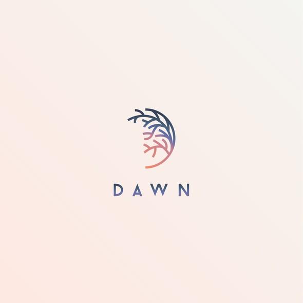 Morning design with the title 'Elegant design depicting Dawn'