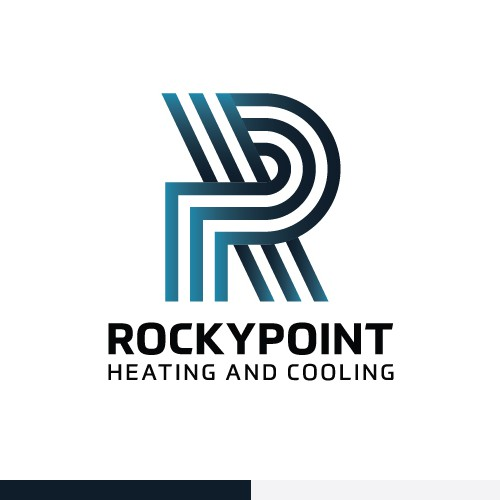 Cooler logo with the title 'Logo for residential heating and air conditioning equipment'