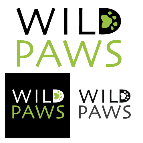 Cut out logo with the title 'Logo for a Pet Food Company'