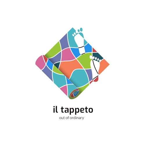 Rug logo with the title 'il tappeto (the carpet)'
