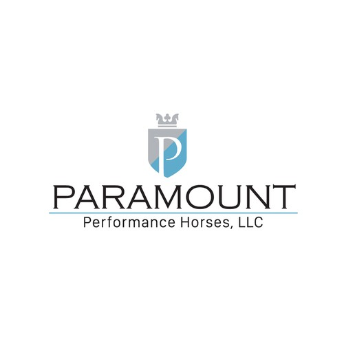 Rich logo with the title 'Horse crown concept for Paramount.'