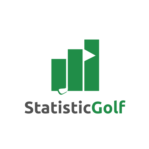 Club logo with the title 'Statistic Golf'