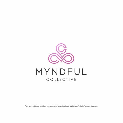 Mindfulness logo with the title 'MYNDFUL COLLECTIVE'