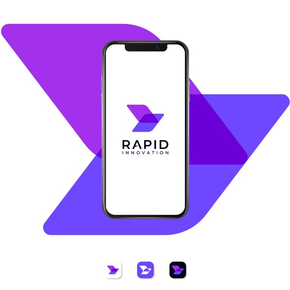 R brand with the title 'RapidInnovation'