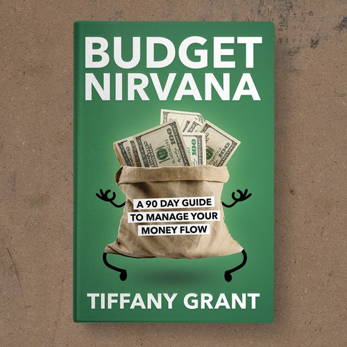 Green book cover with the title 'Budget Nirvana Book Cover'