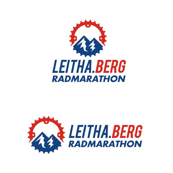 Austrian logo with the title 'LEITHA.BERG RADMARATHON'
