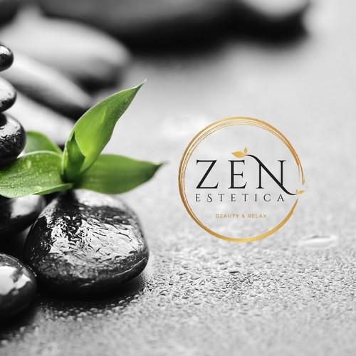 Zen logo with the title 'Zen Estetica'