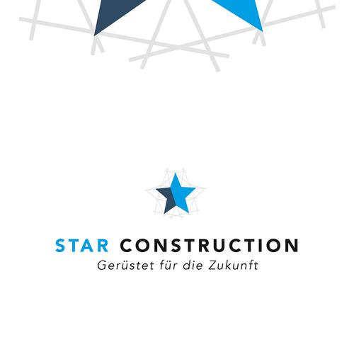 Construction brand with the title 'Logokonzept für Gerüstbaufirma'