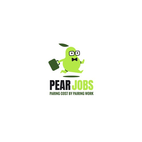 Worker logo with the title 'Pear Jobs'