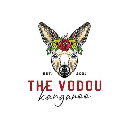Face brand with the title 'The Vodou Kangaroo'
