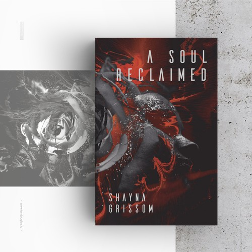 Horror design with the title 'Reclamation of the soul'