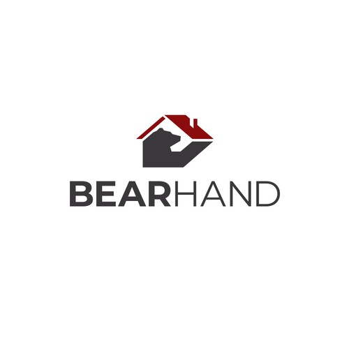 Craftsmanship logo with the title 'Bold Simple Bear Logo for Construction Company'