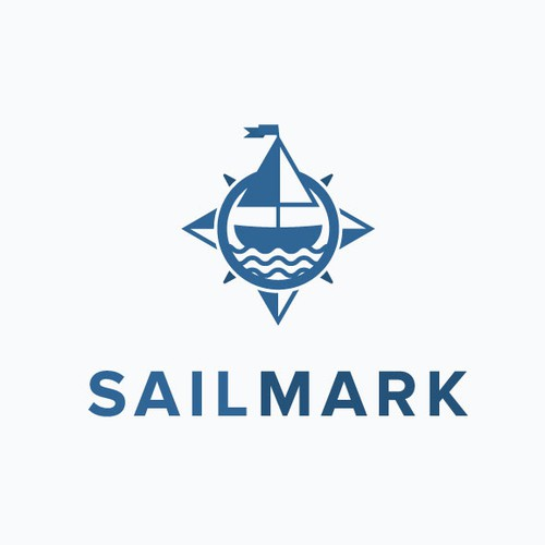 Sailor logo with the title 'Compass Boat'