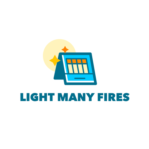 Match design with the title 'Light Many Fires'