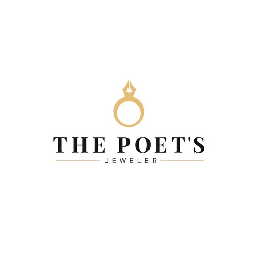 Writer logo with the title 'The Poet's Jeweler'