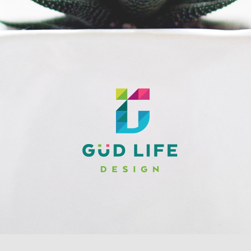 Appliance logo with the title 'Vibrant logo design for Güd Life Design'